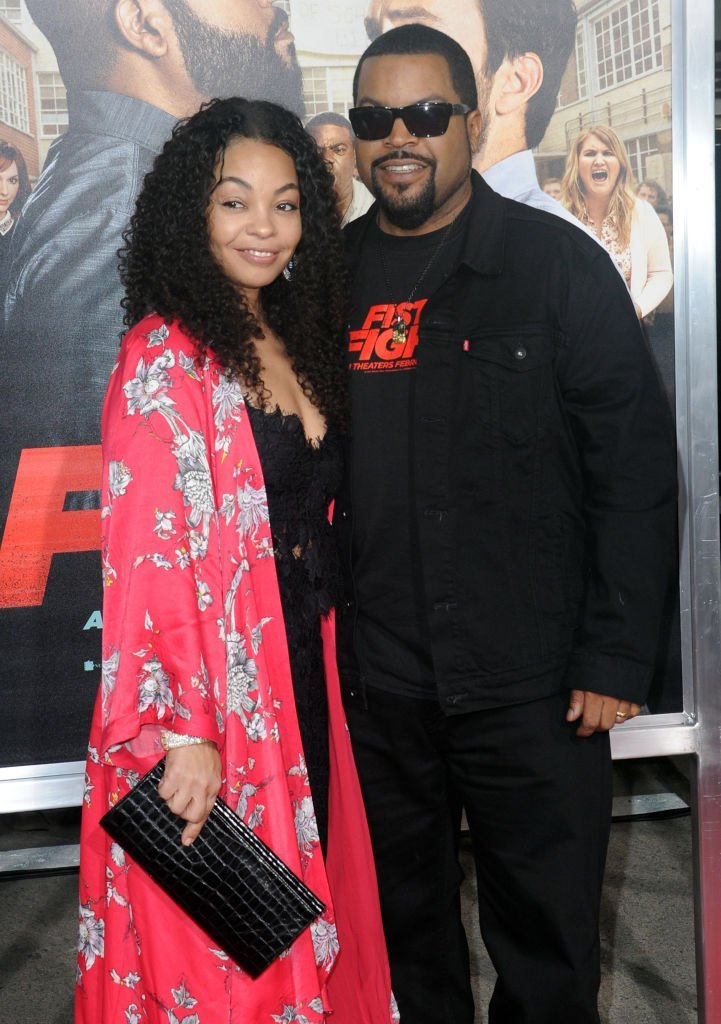 Ice Cube and wife Kimberly Woodruff arrive for the Premiere Of Warner Bros. Pictures' 'Fist Fight'. | Photo: GettyImages