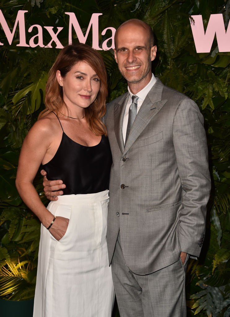 Sasha Alexander (L) and Edoardo Ponti attend Max Mara WIF Face Of The Future at Chateau Marmont on | Getty Images