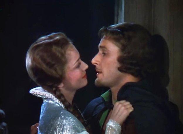 Olivia de Havilland, Errol Flynn, The Adventures of Robin Hood, 1938 | Quelle: Wikimedia Commons