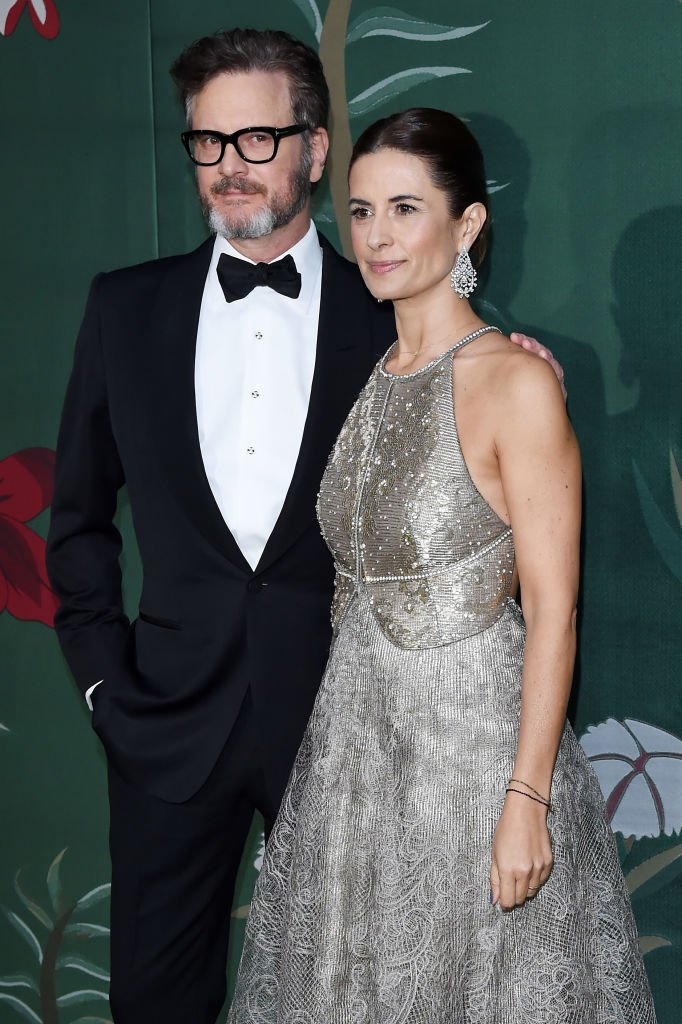 Colin Firth and Livia Firth attend the Green Carpet Fashion Awards during the Milan Fashion Week Spring/Summer 2020 | Photo: Getty Images