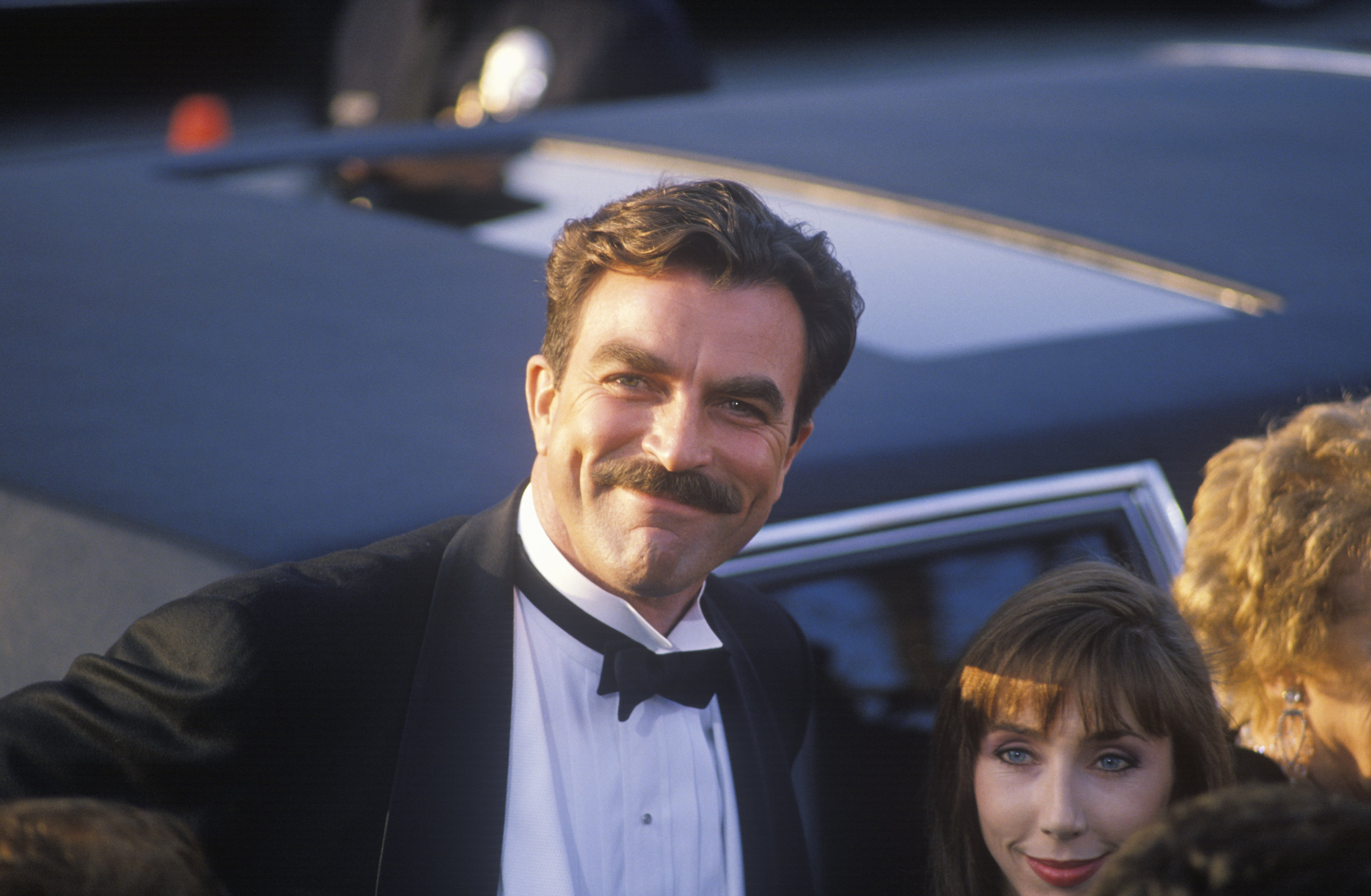 Tom Selleck at the 62nd Annual Academy Awards, Los Angeles, California, March 26, 1990. | Photo: GettyImages