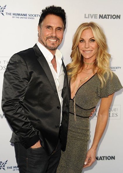 Actor Don Diamont and actress Cindy Ambuehl attend Humane Society of The United States' annual To The Rescue! Los Angeles benefit at Paramount Studios | Photo: Getty Images