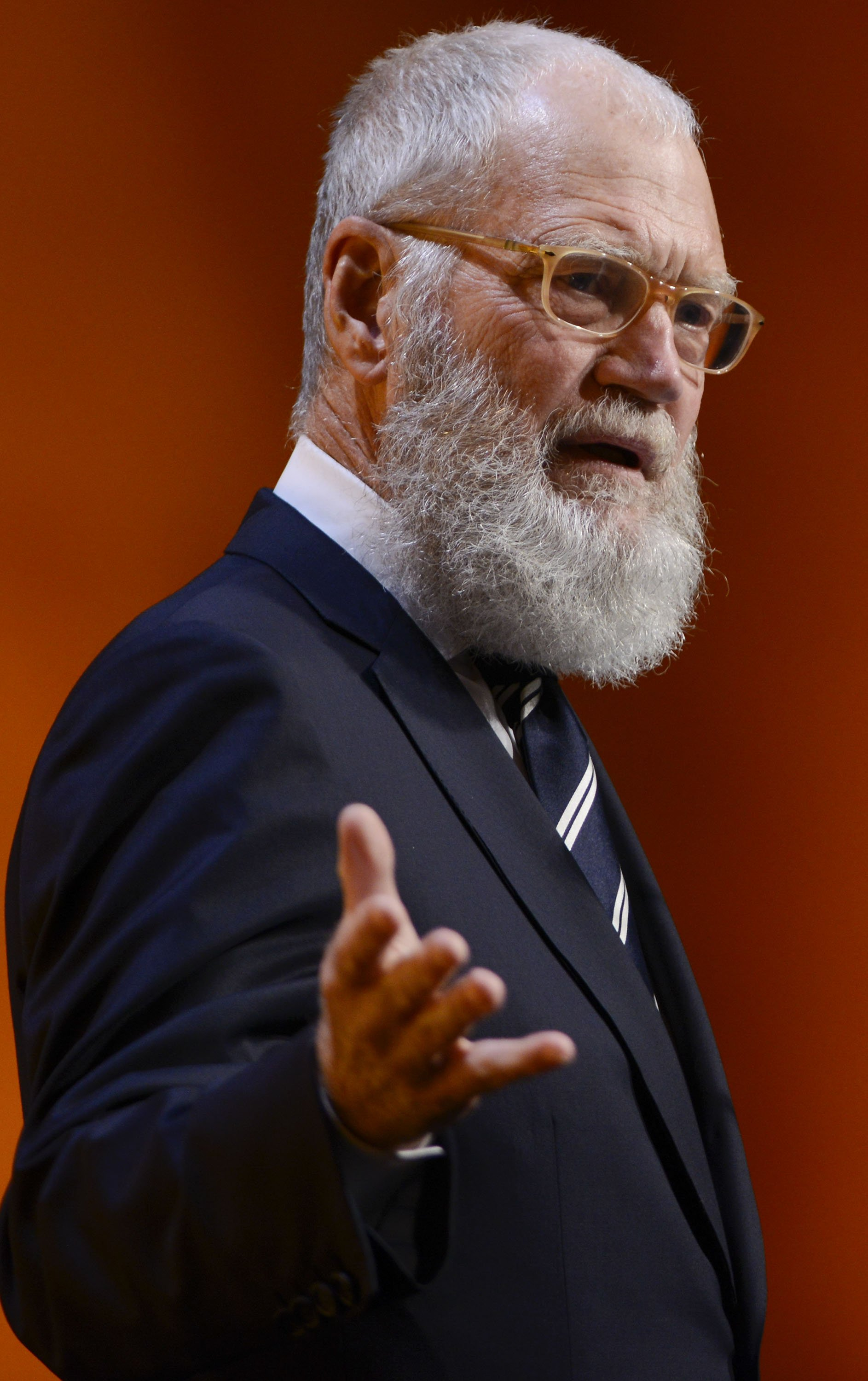 David Letterman speaks at the 32nd Anniversary Gala Fundraiser at National Building Museum on November 17, 2016, in Washington, DC. | Getty Images.