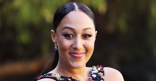 Tamera Mowry Shares Snap of Daughter Ariah Sitting Pretty in a Pink Outfit