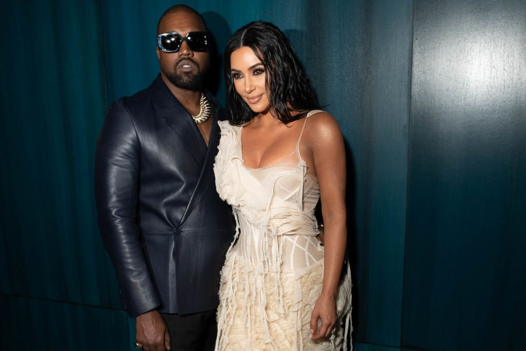 Kanye West and Kim Kardashian attend the 2020 Vanity Fair Oscar Party at Wallis Annenberg Center for the Performing Arts on February 09, 2020. | Photo: Getty Images