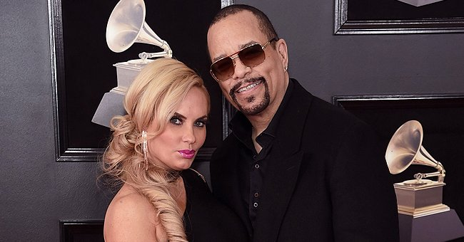 Fans React to Coco Austin Showing Her Curves in a Knitted Swimsuit While in the Pool with Daughter Chanel
