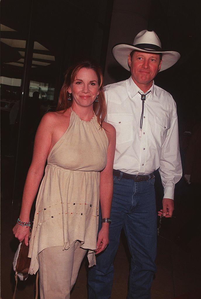 Melissa Gilbert et  Bruce Boxleitner en 2000. l Source : Getty Images