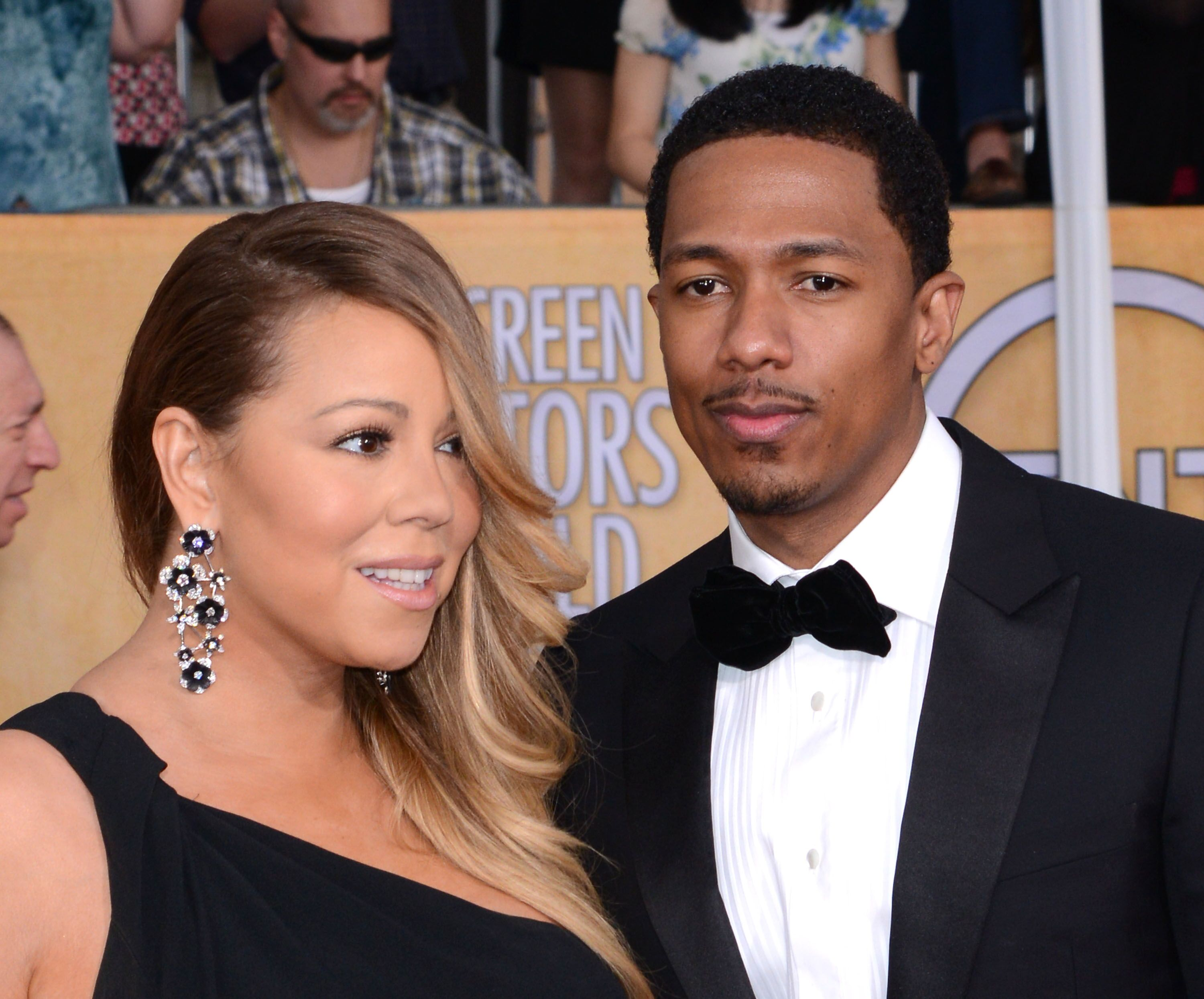 Mariah Carey and Nick Cannon at the Screen Actors' Guild Awards | Source: Getty Images/GlobalImagesUkraine
