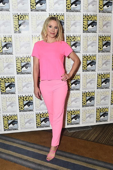 Kristen Bell at 'The Good Place' Press Conference at the Hilton Bayfront, San Diego, Calif. on July 20, 2019 | Photo: Getty Images