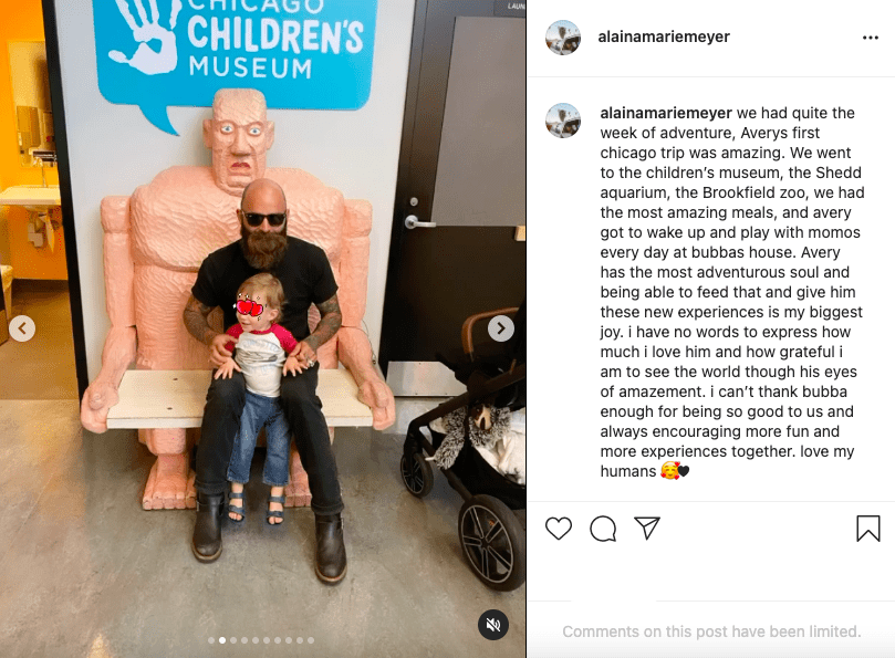 Beautiful model Alaina Meyer, shares a nap of her new man with her adorable son on Instagram | Photo: Instagram/alainamariemeyer