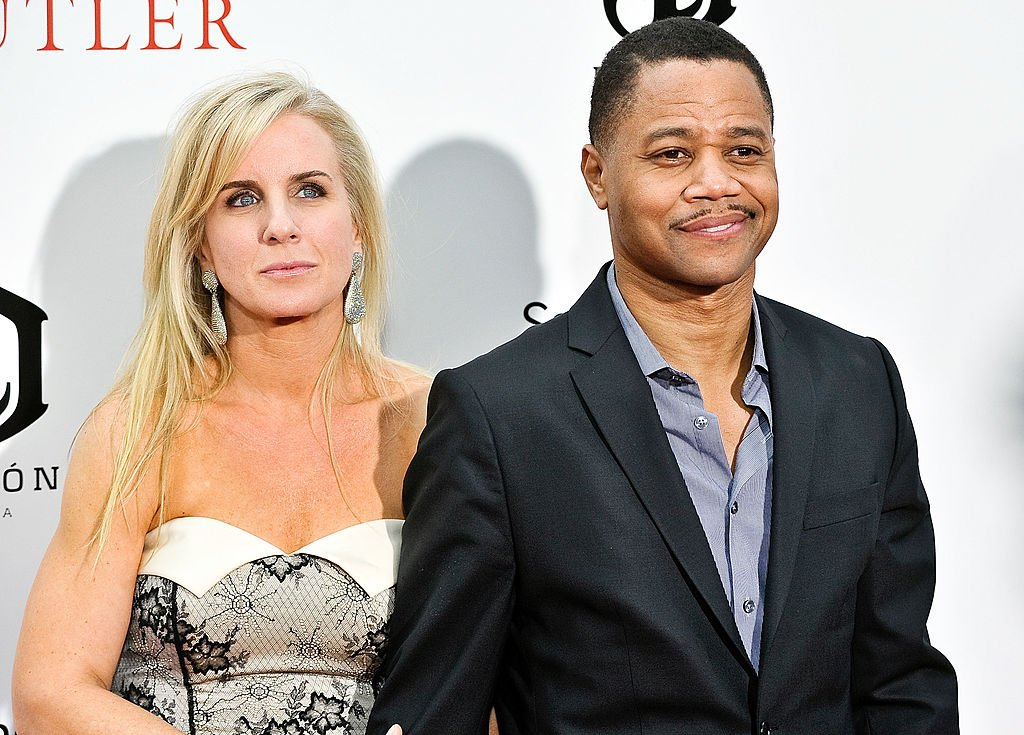 """Sara Kapfer and Cuba Gooding Jr. attend """"The Butler"""" New York Premiere on August 5, 2013 