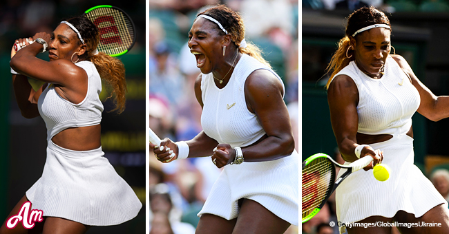 Serena Williams Gets a Custom-Made Crystal 'Swoosh' for Wimbledon