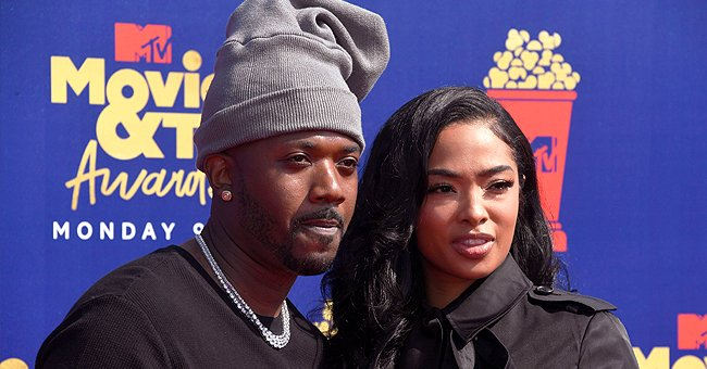 Check Out Ray J & Princess Love's Daughter Melody's Adorable Denim Outfit While Playing with a Friend