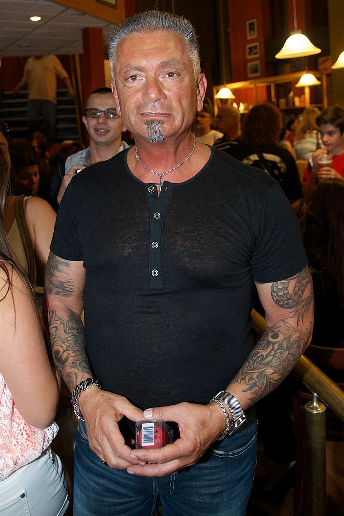 """Larry Caputo attends the book signing for """"There's More to Life Than This"""" at Book Revue 