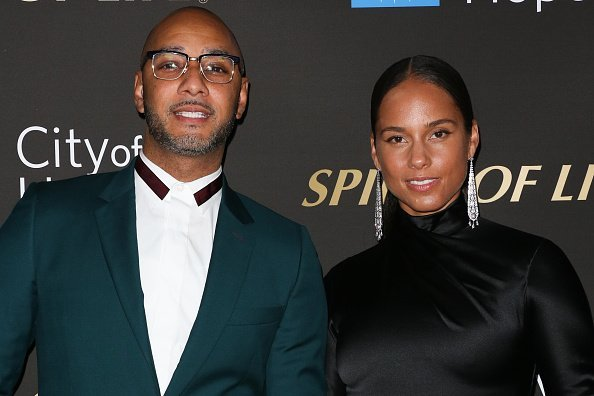 Swizz Beatz and Alicia Keys at the City Of Hope's Spirit Of Life 2019 Gala in Santa Monica, California.| Photo: Getty Images.