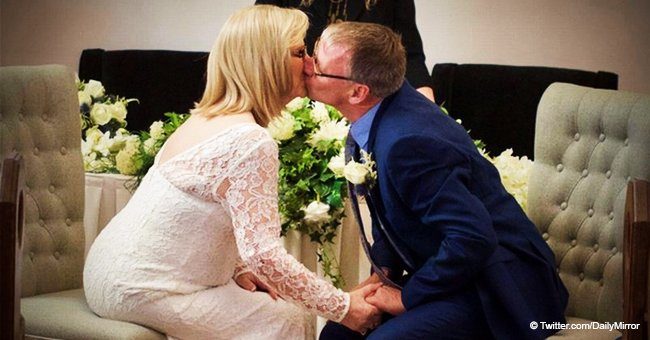 Frau der nur wenige Stunden zu Leben gegeben wurden, überrascht Ärzte, erholt sich und heiratet
