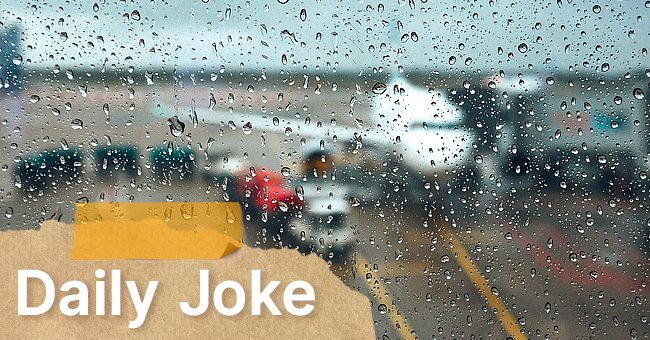 Daily Joke: Bad Weather Spoils Airline Pilot's Mood
