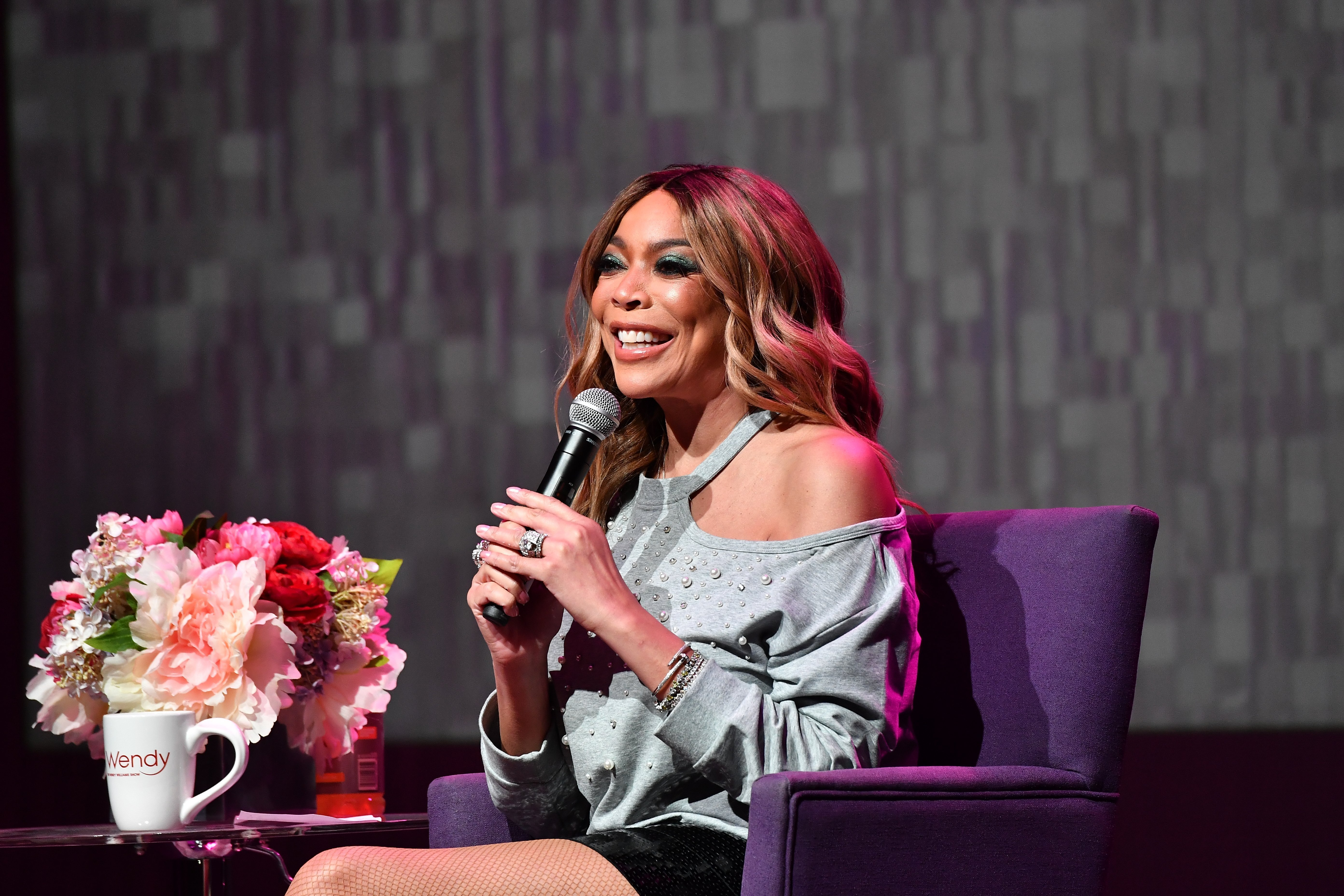 Wendy Williams speaks onstage during her celebration of 10 years of 'The Wendy Williams Show' in  August 2018. | Photo: Getty Images