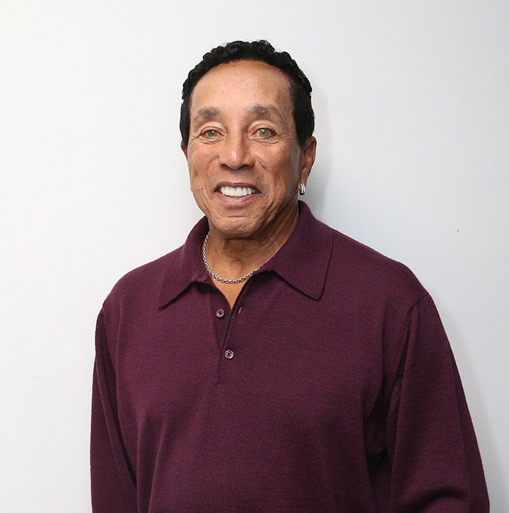 Smokey Robinson visits at SiriusXM Studio on October 19, 2016 in New York City. I Image: Getty Images.