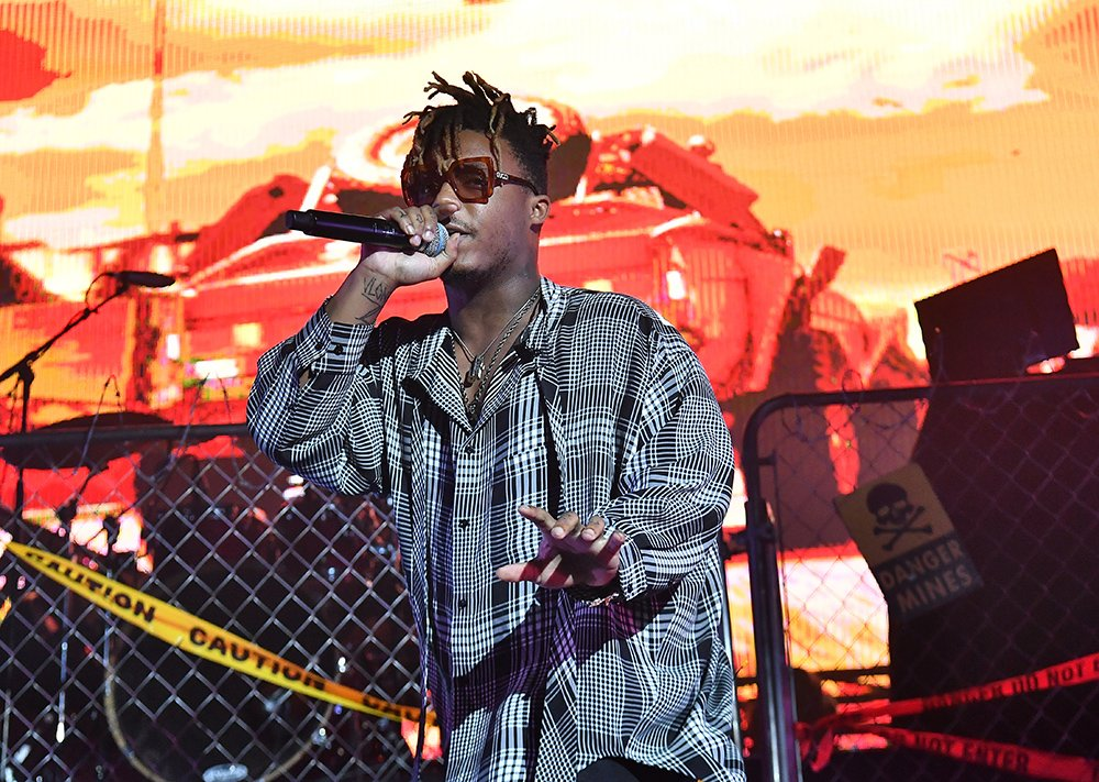 "Juice WRLD performs in concert during ""Death Race For Love"" tour at Coca-Cola Roxy on May 12, 2019 in Atlanta, Georgia. I Image: Getty Images."