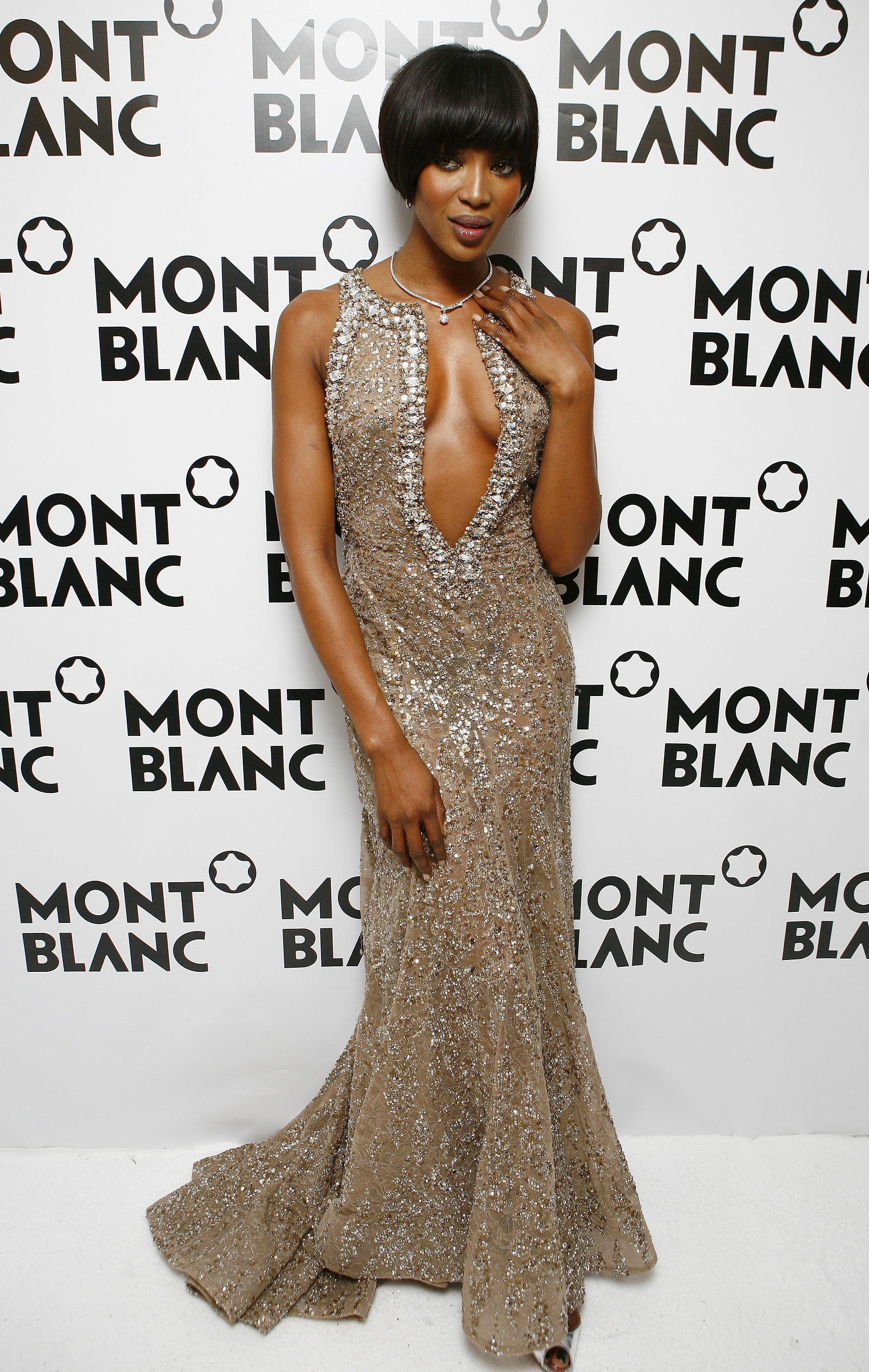 Model Naomi Campbell attends the Montblanc Night Of The Stars gala February 2, 2007 | Photo: GettyImages