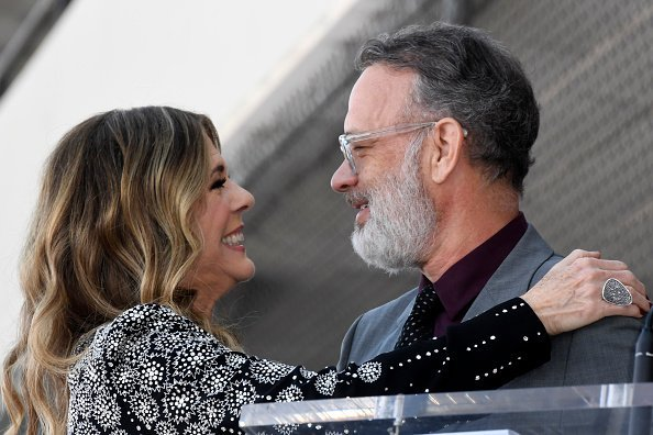 Rita Wilson and Tom Hanks on March 29, 2019 in Hollywood, California | Photo: Getty Images