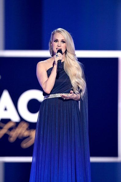 Carrie Underwood at MGM Grand Garden Arena on April 07, 2019 in Las Vegas, Nevada   Photo: Getty Images