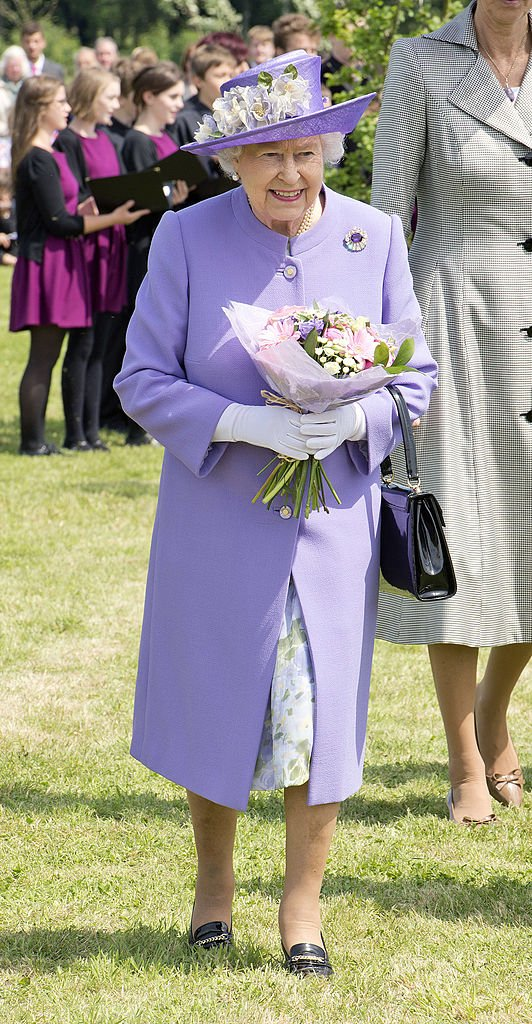 Queen Elizabeth II at Hatfield House on June 14, 2012 in Hertfordshire, England | Photo: Getty Images