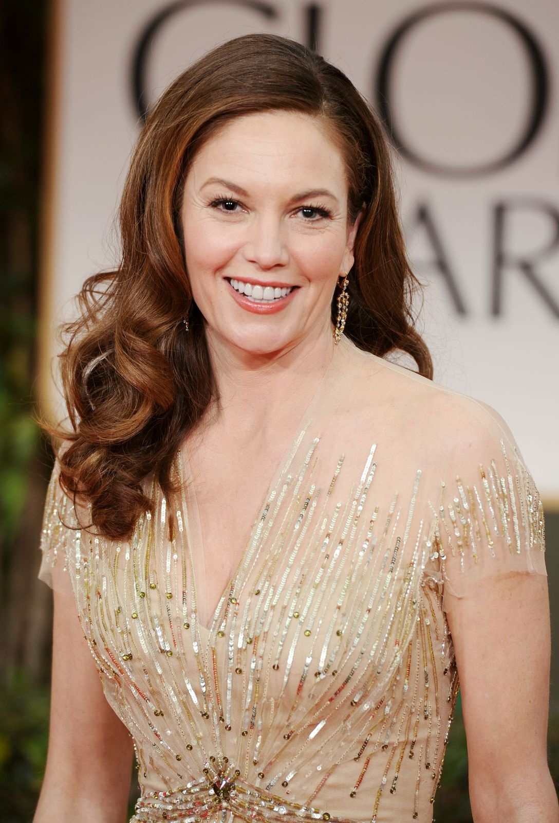 Actress Diane Lane at the 69th Annual Golden Globe Awards held at the Beverly Hilton Hotel on January 15, 2012 | Photo: Getty Images