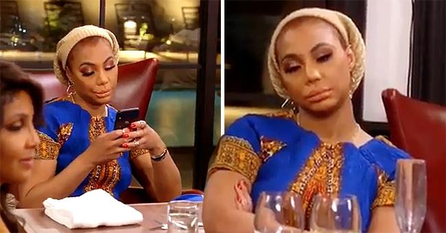 Tamar Braxton Unimpressed as Trina Gets Engaged at Her Birthday Dinner on 'BFV'