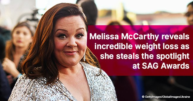 Melissa McCarthy reveals incredible weight loss as she steals the spotlight at SAG Awards