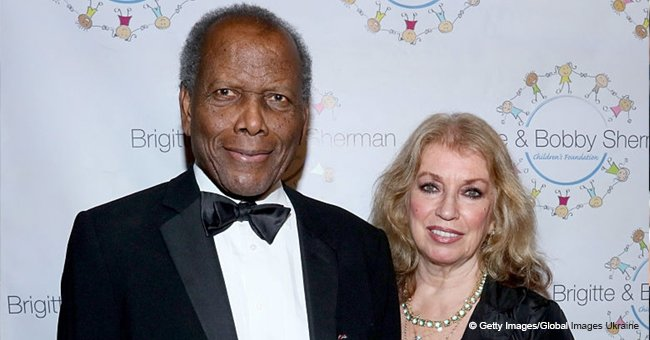 Sidney Poitier's Daughter Is All Grown up and Following in Her Father's Footsteps