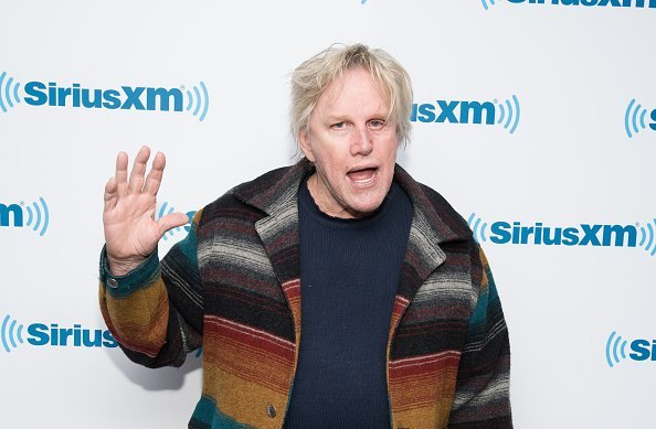 Actor Gary Busey at the SiriusXM Studio in New York City.| Photo: Getty Images.