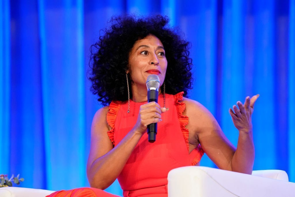 Actress Tracee Ellis Ross speaks on stage during Texas Conference For Women 2019 at Austin Convention Center | Photo: Getty Images