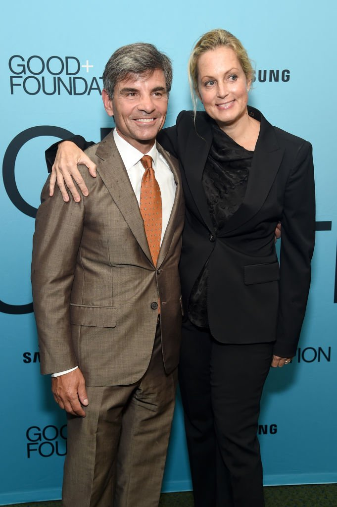 George Stephanopoulos (L) and Ali Wentworth attend the 2018 GOOD+ Foundation's Evening of Comedy + Music Benefit, presented by Samsung Electronics America at Carnegie Hall | Getty Images / Global Images Ukraine