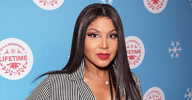 Toni Braxton's 18-Year-Old Son Denim Shows off His Swag as He Poses in Black Outfits (Photos)