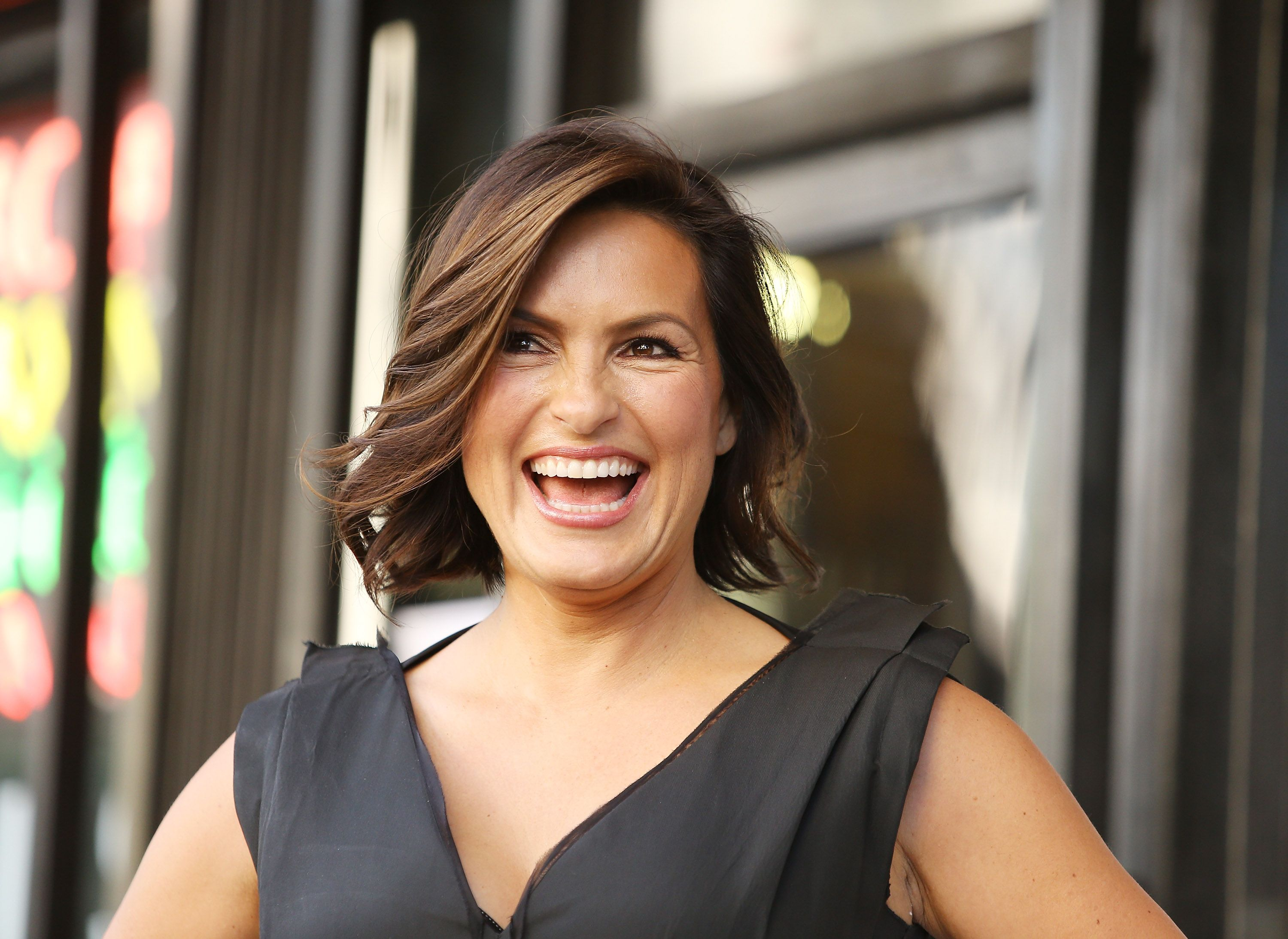 Mariska Hargitay at the ceremony honoring her with a Star on The Hollywood Walk of Fame on November 8, 2013 in Hollywood, California | Photo: Getty Images