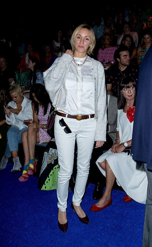 Mariona Saperas en la Semana de la Moda de Mercedes-Benz.  Fuente: Getty Images