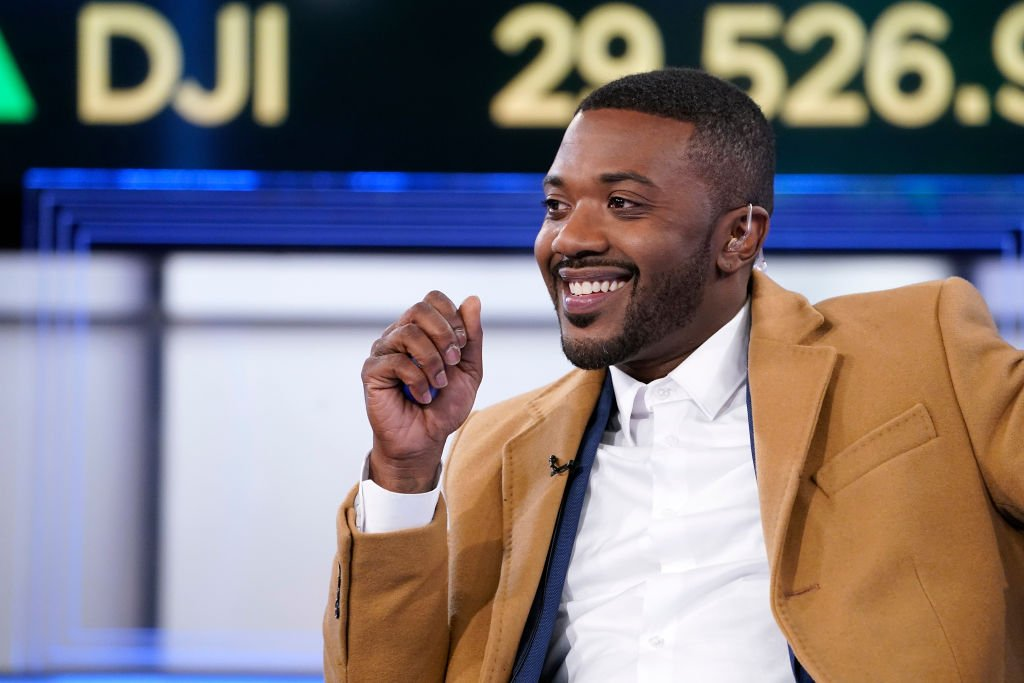 "Ray J speaks with anchor Charles Payne during ""Making Money"" at Fox Business Network Studios on February 12, 2020 