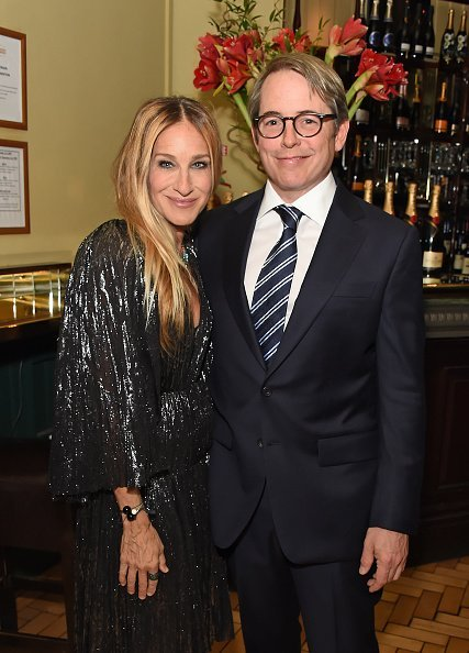 Sarah Jessica Parker and Matthew Broderick at Browns on May 29, 2019 in London, England. | Photo: Getty Images