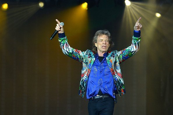 Mick Jagger at Twickenham Stadium on June 19, 2018 in London, England | Photo: Getty Images