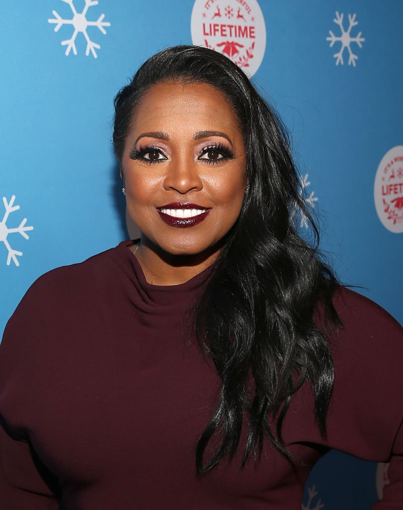 """Actress Keshia Knight Pulliam attends the 2018 VIP opening night of the """"It's A Wonderful Time"""" holiday event in Los Angeles, California. 