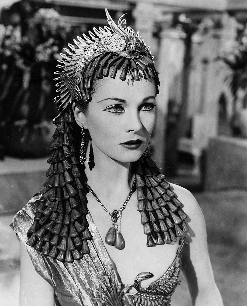 """Vivien Leigh as in the 1945 film """"Caesar & Cleopatra"""" 