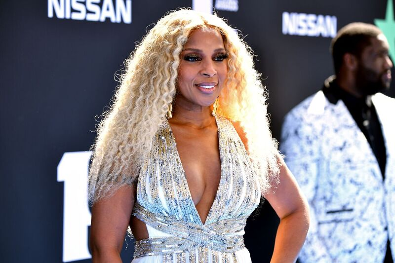 Mary J. Blige at a red carpet event | Source: Getty Images/GlobalImagesUkraine