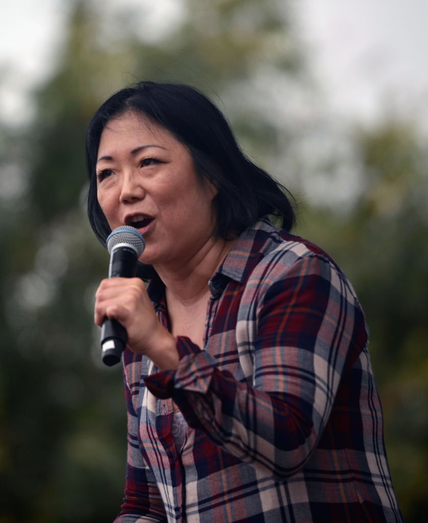 Margaret Cho at the LA Pride ResistMarch | Photo: Getty Images