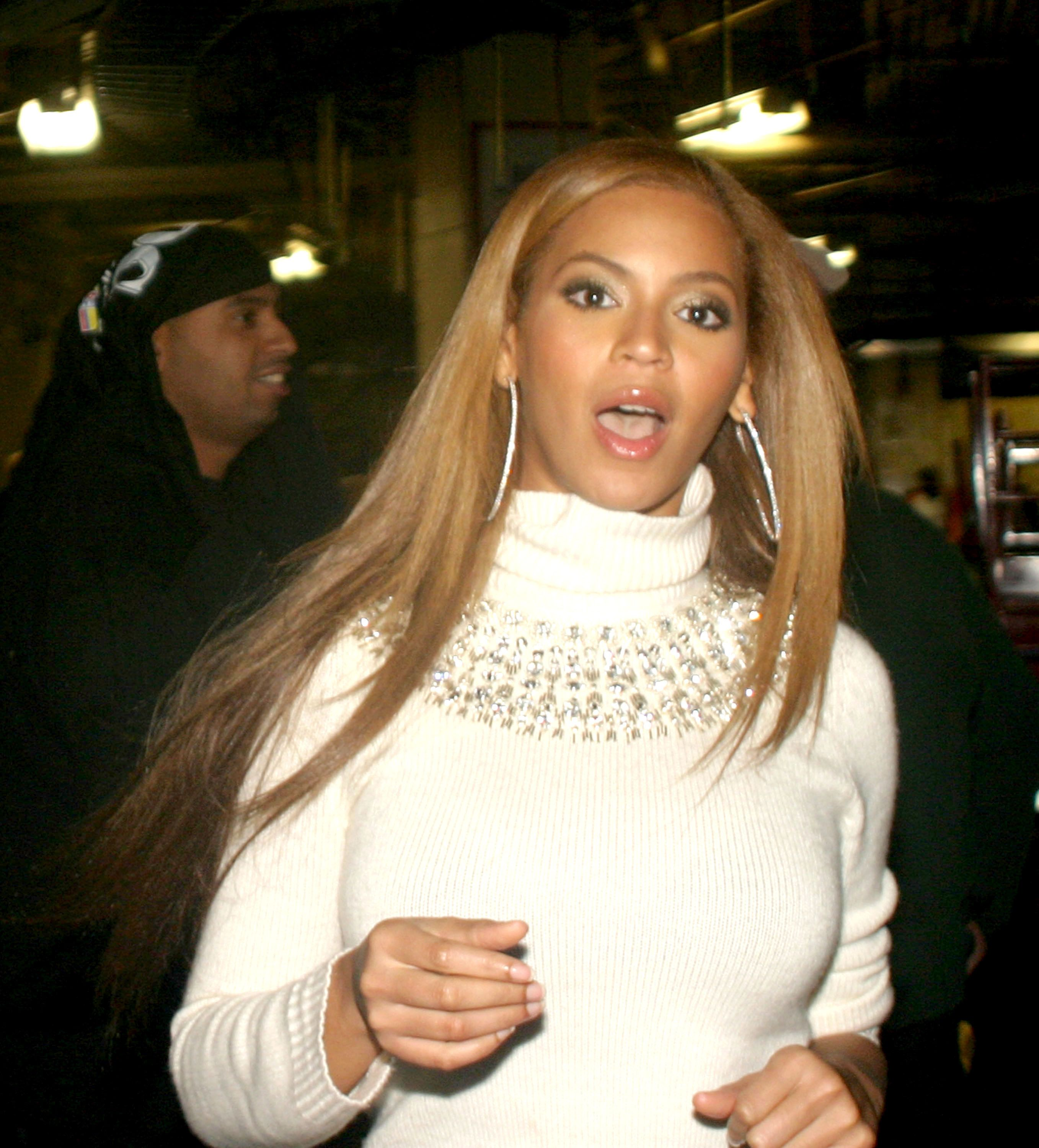 """Beyonce at Power 105.1 FM presenting Jay-Z's """"I Declare War"""" concert on October 27, 2005 in N.Y. 