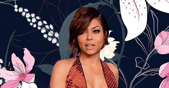 Taraji P Henson Flaunts Her Under-Navel Tattoo in a Glittery Swimsuit in a New Photoshoot