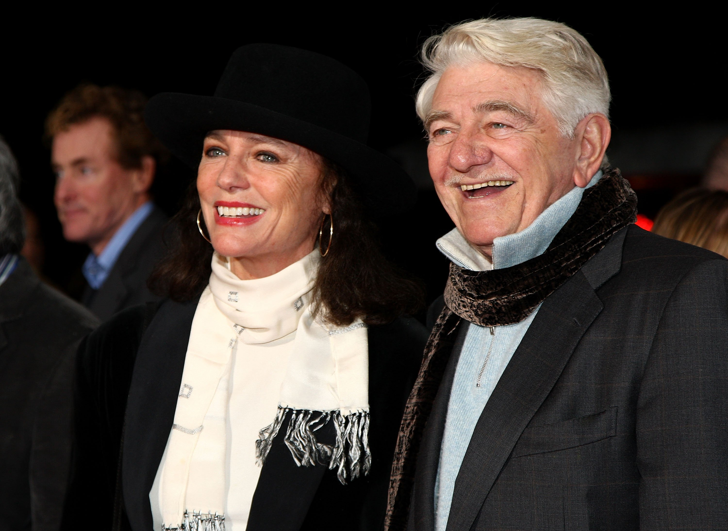 Jacqueline Bisset and Seymour Cassel arrive at Paramount Vantage's Los Angeles premiere of 'Revolutionary Road' on December 15, 2008 in Westwood, California. Photo: Getty Images/GlobalImagesUkraine