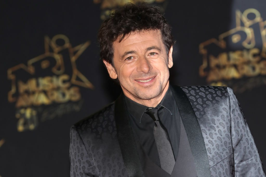 Patrick Bruel au 20ème NRJ Music Awards / source : Getty Images