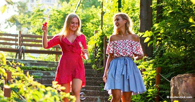 Blague : Deux blondes au paradis